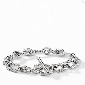 Authentic David yurman cushion cut bracelet